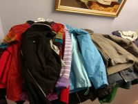 Donated clothes for needy people.