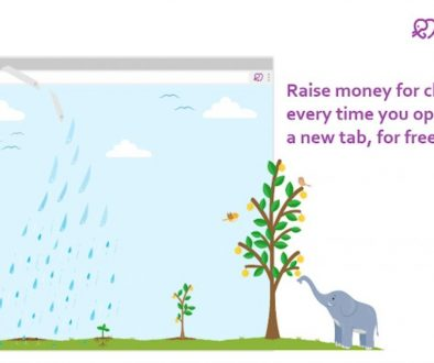 A screenshot from the website of Tab for a Cause.