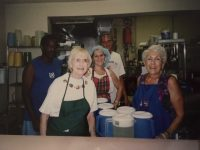 The early days of Our Father's House Soup Kitchen