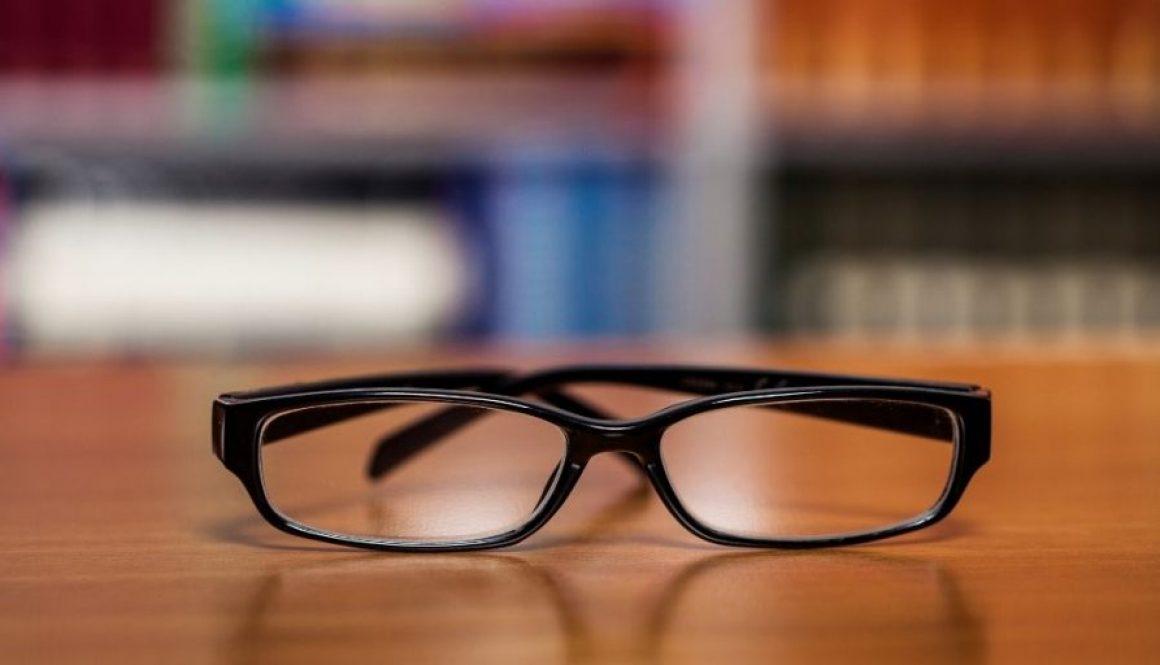 Eyeglasses to donate.